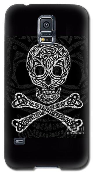 Celtic Skull And Crossbones Galaxy S5 Case