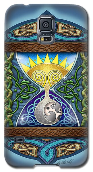 Celtic Sun Moon Hourglass Galaxy S5 Case