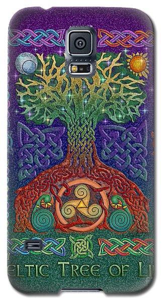 Celtic Tree Of Life Galaxy S5 Case