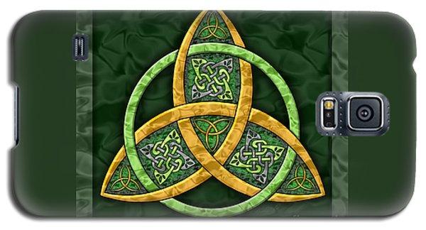 Celtic Trinity Knot Galaxy S5 Case by Kristen Fox
