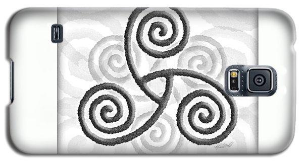 Celtic Triple Spiral Galaxy S5 Case