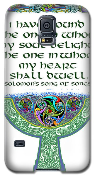 Celtic Wedding Goblet Galaxy S5 Case