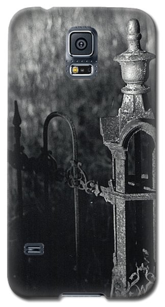 Cemetery  Fence Galaxy S5 Case