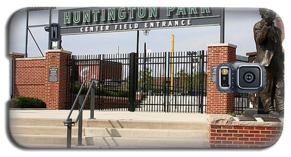 Center Field Entrance At Huntington Park  Galaxy S5 Case by Laurel Talabere