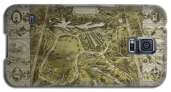 Central Park 1863 Galaxy S5 Case by Duncan Pearson
