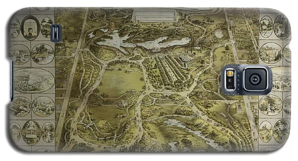Central Park 1863 Galaxy S5 Case