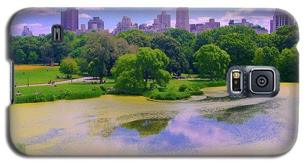 Central Park And Lake, Manhattan Ny Galaxy S5 Case
