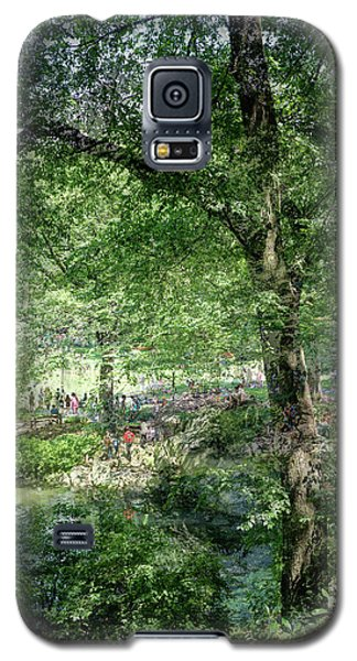Galaxy S5 Case featuring the photograph Central Park Montage by Dave Beckerman