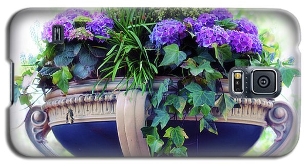 Galaxy S5 Case featuring the photograph Central Park Planter by Jessica Jenney