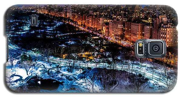 Galaxy S5 Case featuring the photograph Central Park by M G Whittingham