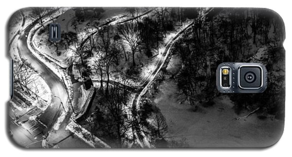 Galaxy S5 Case featuring the photograph Central Park Trails by M G Whittingham