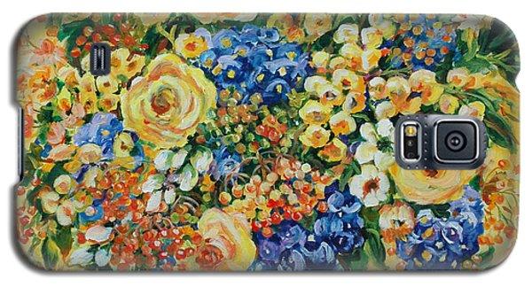 Ceramic Blue Galaxy S5 Case