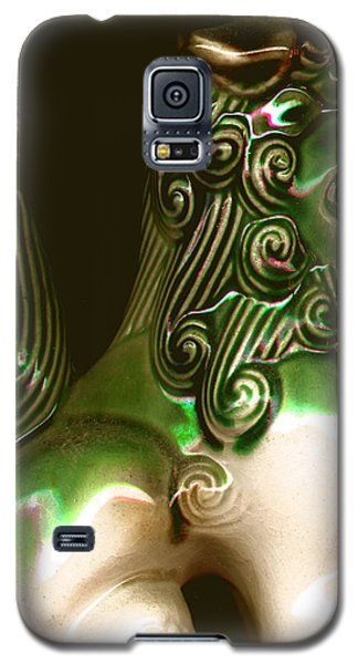 Ceramic Chinese Temple Dog Galaxy S5 Case by Merton Allen