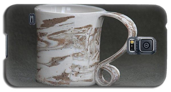 Ceramic Marbled Clay Cup Galaxy S5 Case by Suzanne Gaff