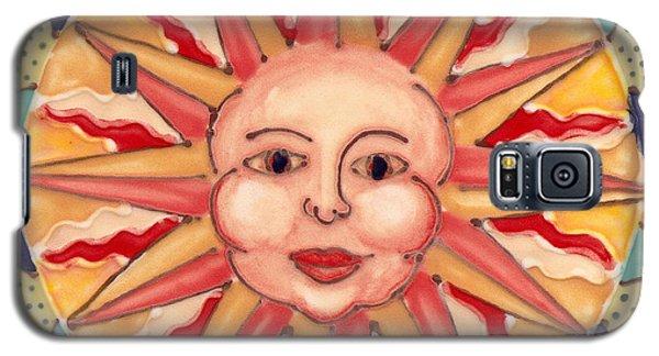 Ceramic Sun Galaxy S5 Case