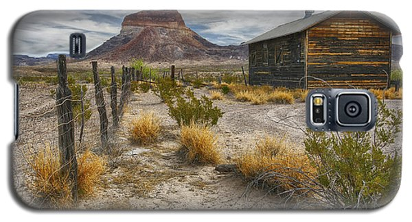 Cerro Castellan - Big Bend - Color Galaxy S5 Case