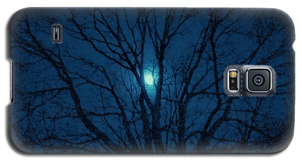Galaxy S5 Case featuring the photograph Cerulean Night by Denise Beverly