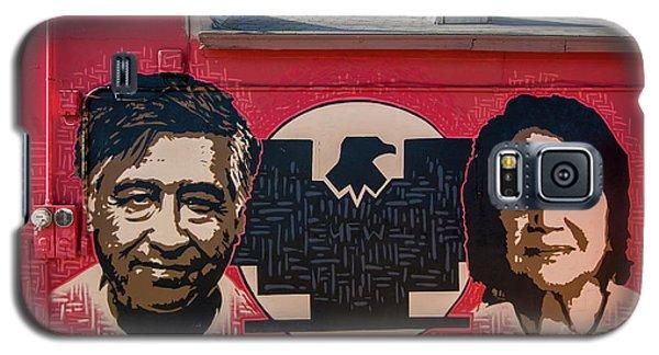 Cesar Chavez And Dolores Huerta Mural - Utah Galaxy S5 Case