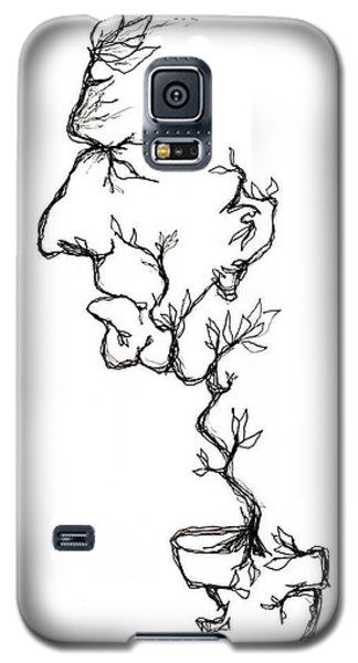 Cesar Salad-cracked Pots Galaxy S5 Case
