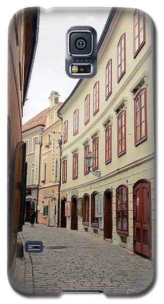 Cesky Krumlov IIi Galaxy S5 Case by Louise Fahy
