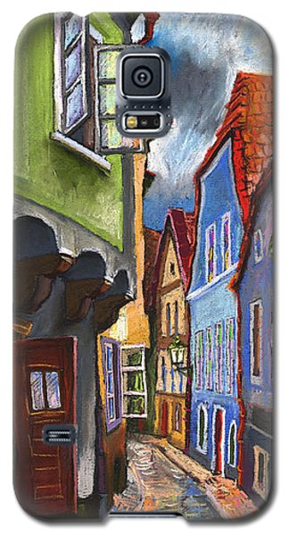 Cesky Krumlov Old Street 1 Galaxy S5 Case by Yuriy  Shevchuk
