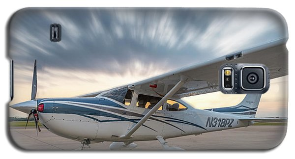 Cessna 182 On The Ramp Galaxy S5 Case