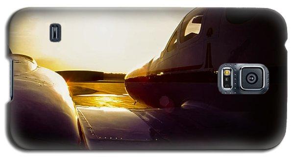Cessna 421c Golden Eagle IIi Silhouette Galaxy S5 Case