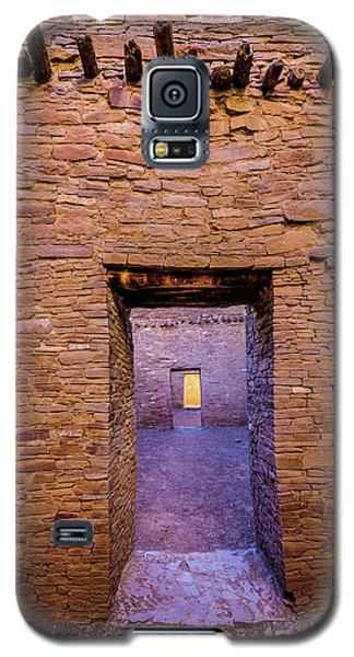 Chaco Canyon - Pueblo Bonito Doorways - New Mexico Galaxy S5 Case