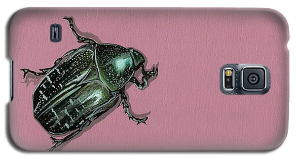 Galaxy S5 Case featuring the painting Chaf Beetle by Jude Labuszewski