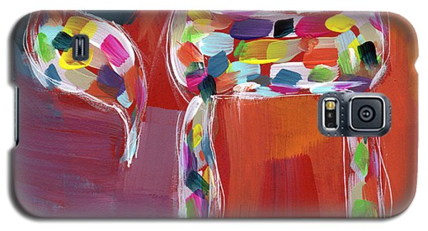 Chai Of Many Colors- Art By Linda Woods Galaxy S5 Case