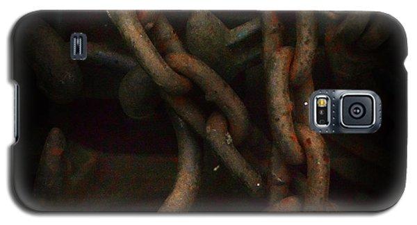 Plate 002- Chain - Metallica Series Galaxy S5 Case