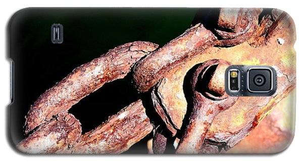 Galaxy S5 Case featuring the photograph Chain Age by Stephen Mitchell