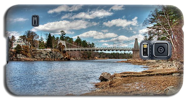 Chain Bridge On The Merrimack Galaxy S5 Case