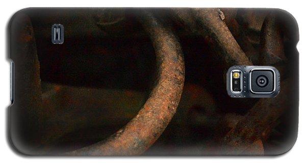 Plate 001- Chain - Metallica Series Galaxy S5 Case