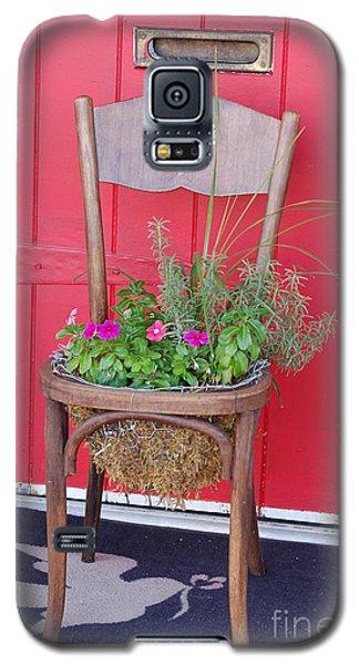 Chair Planter Galaxy S5 Case