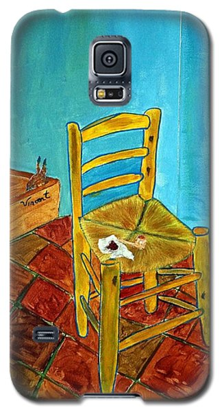 Chair With Pouch Galaxy S5 Case