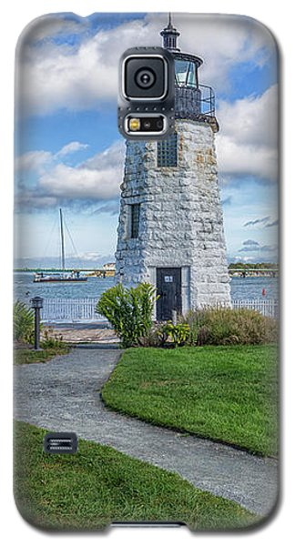 Chairs At Newport Harbor Lighthouse Galaxy S5 Case