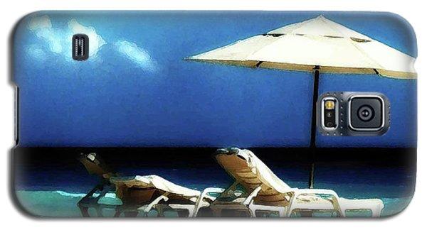 Chairs On A Beach Galaxy S5 Case