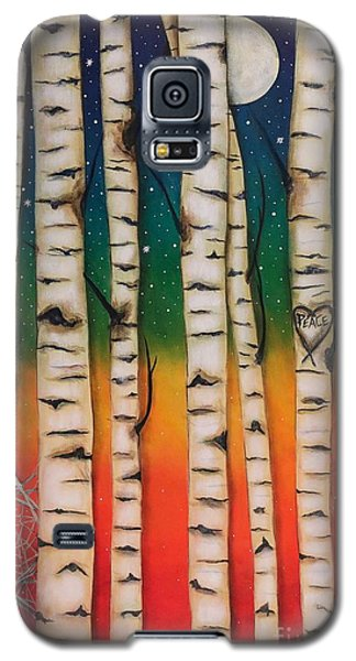 Chakra Rainbow Forest Galaxy S5 Case