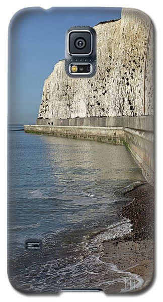 Chalk Cliffs At Peacehaven East Sussex England Uk Galaxy S5 Case