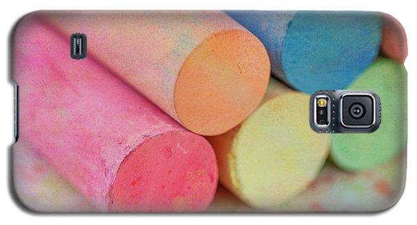 Chalk Galaxy S5 Case by June Marie Sobrito