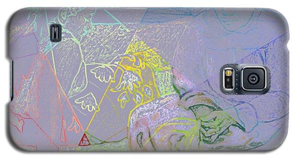 Chalkboard Galaxy S5 Case by David Bridburg