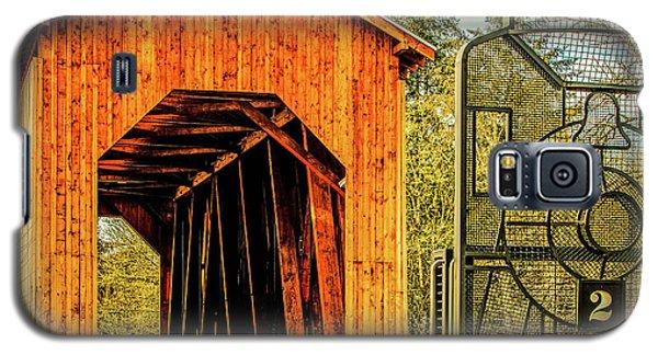 Chambers Railroad Bridge Galaxy S5 Case
