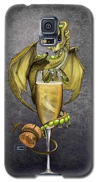 Champagne Dragon Galaxy S5 Case