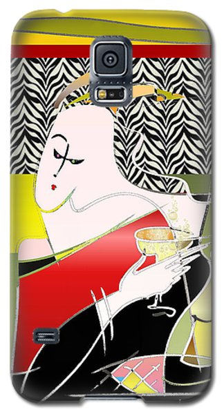 Champagne For One At The Zebra Lounge Galaxy S5 Case