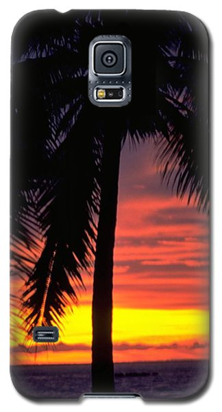 Champagne Sunset Galaxy S5 Case