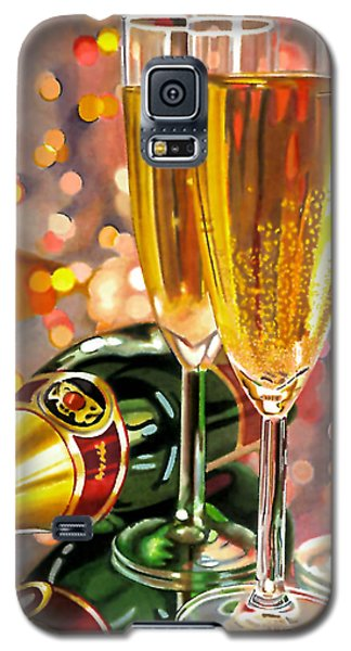 Champagne Wishes Galaxy S5 Case