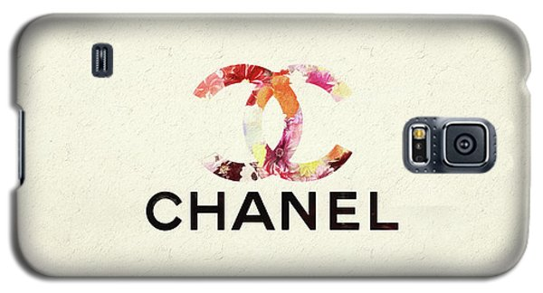 Chanel Floral Texture  Galaxy S5 Case