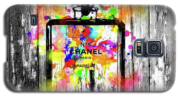 Chanel No. 5  Wooden Galaxy S5 Case by Daniel Janda