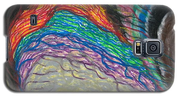 Galaxy S5 Case featuring the painting Changes by Ania M Milo